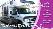 ford tioga motorhome repair and paint review video from www.thecrashdoctor.com