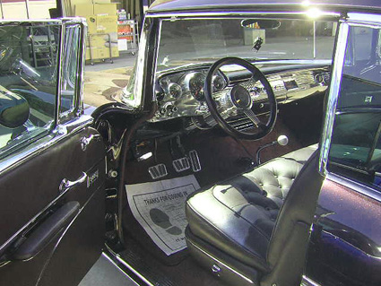 1957 chevy custom interior work from www.thecrashdoctor.com