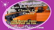 Classic Mustang complete paint and restoration custom painting from www.thecrashdcotor.com