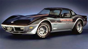1978 covette indy 500 official pace car photo