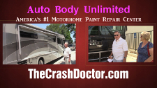2005 Fleetwood Motorhome fiberglass glass paint job video