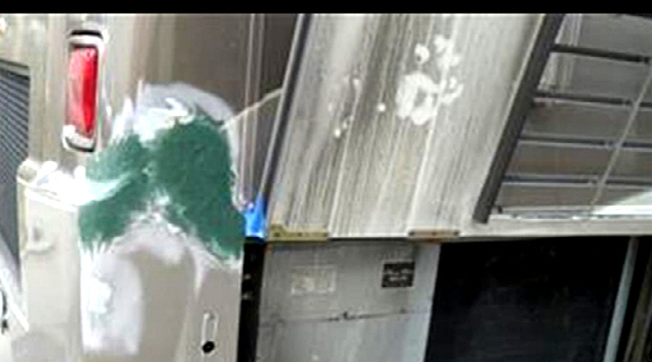 2008 Winnebego Journey 36 Ft Motorhome Fiberglass Repair Paint Video From
