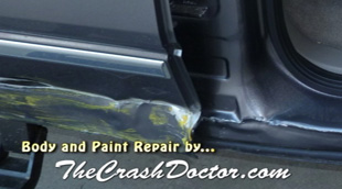 ford f150 pickup damage runner repair and paint photo from www.thecrashdoctor.com