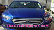 2013 Ford Taurus Fleet commercial repair job by www.thecrashdoctor.com photo video