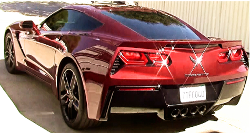 2016 Corvette Stingray auto body repair paint video
