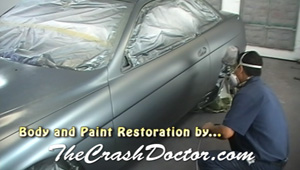 1992 Lexus paint restoration video graphic from www.thecrashdoctor.com