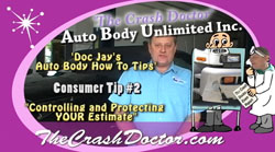 auto body how to video tips consumer tip #2 photo controlling your estimate from www.thecrashdoctor.com