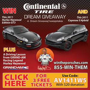 Porsche Dream Give a Way for charity contest win two porsches now from www.thecrashdoctor.com