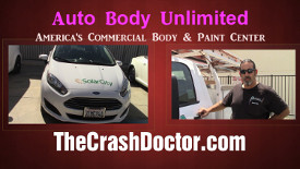 commercial fleet truck auto body repair paint center
