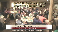 I Car 20 Year Gold Class Body Shop Award Presented To Dr